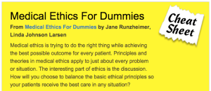 Good review of Medical Ethics!
